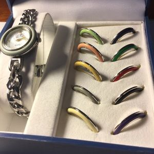 Casa Blanca Paris Watch with interchangeable bezel